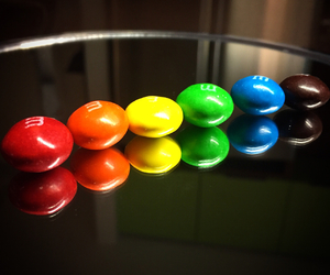 candy, colorful, and m&ms image