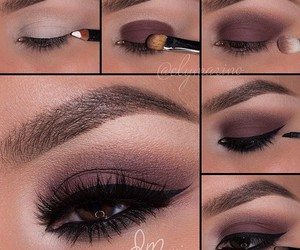 eyeliner, make up, and makeup tutorial image