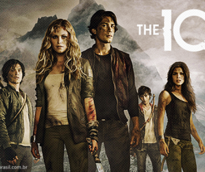 the 100, bellamy, and finn image