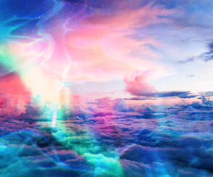 beautiful, clouds, and edit image