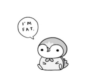 penguin and fat image
