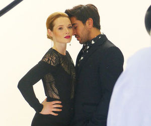 backstage, couple, and karoline herfurth image