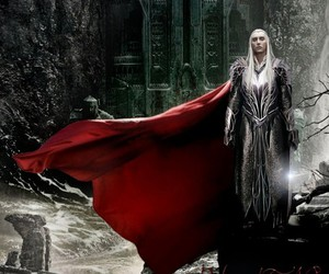 dwarves, thranduil, and king image