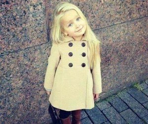 little girl, cute, and sweety image