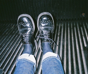shoes, indie, and grunge image