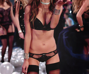 alessandra ambrosio and Victoria's Secret image