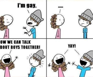 gay, boy, and lol image