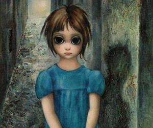 big eyes, Margaret Keane, and art image