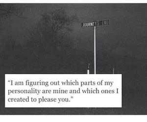 quote, love, and personality image
