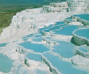 turkey and pamukkale image