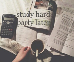 study, hard, and school image