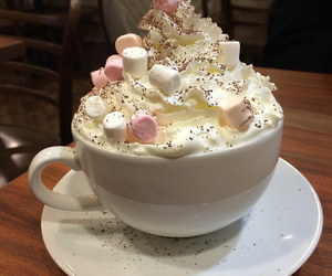 yummy, love it, and hot ​chocolate image