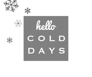cold, cozy, and days image