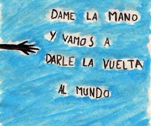 world, calle 13, and frases image