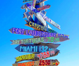 travel, summer, and Miami image