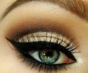 eyes, image, and makeup image