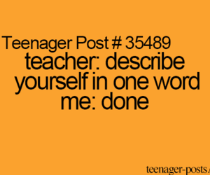 done, funny, and teenager image