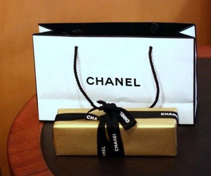 black, photography, and chanel image