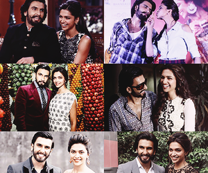 bollywood, deepika padukone, and golden couple image