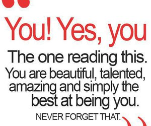 you, beautiful, and quotes image