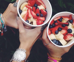 fruit, fashion, and fitness image