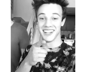 cameron, handsome, and smile image
