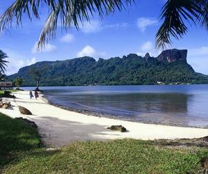 beach, pohnpei, and sokehsrock image