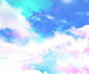 background, clouds, and colorful image