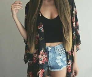 clothes, hair, and hipster image