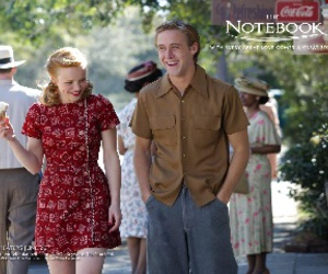 ice cream and the notebook image