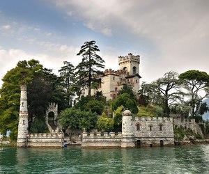 castle, italy, and Loreto image