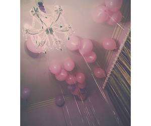 pink, balloons, and indie image