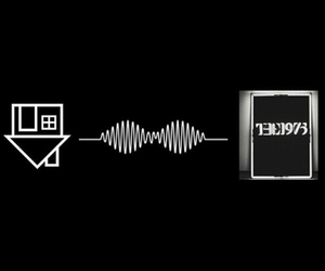 the, artic monkeys, and the 1975 image