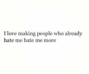 hate, quotes, and people image