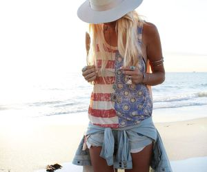 blonde, bohemian, and gypsy image