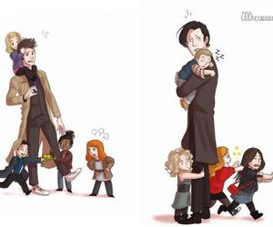 doctor who, doctor, and rose tyler image