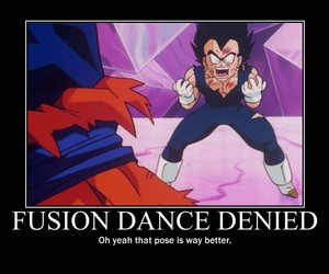 dragonball z, funny, and shocked image