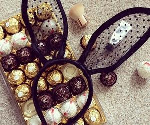 chocolate and girl image