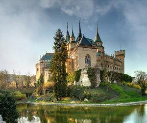 castle and slovakia image