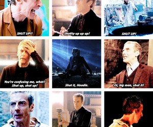 doctor who, shut up, and peter capaldi image