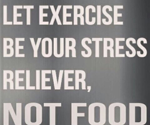 exercise, fitness, and stress image