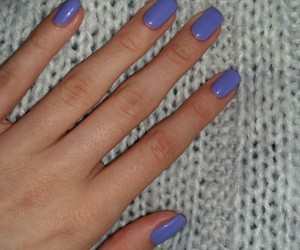 blue, fingers, and manicure image