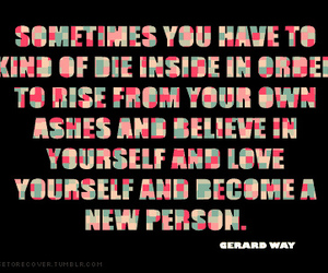 gerard way, quote, and quotes image