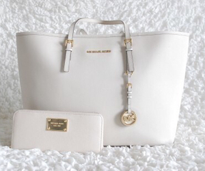 bag, white, and fashion image