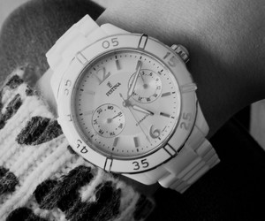 watch and white image