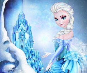 princess, elsa, and disney image