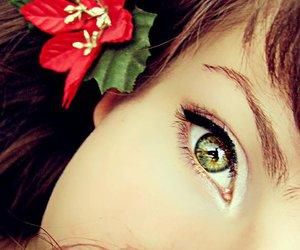 beautiful eyes, black and white, and eyes image