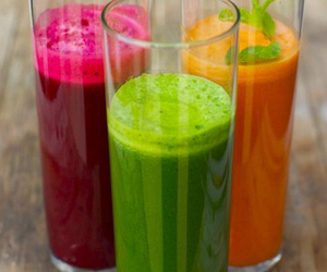 drink, healthy, and green image