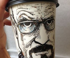 art, breaking bad, and coffee image