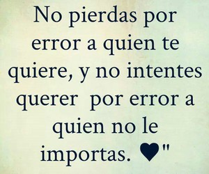 love, frases, and error image